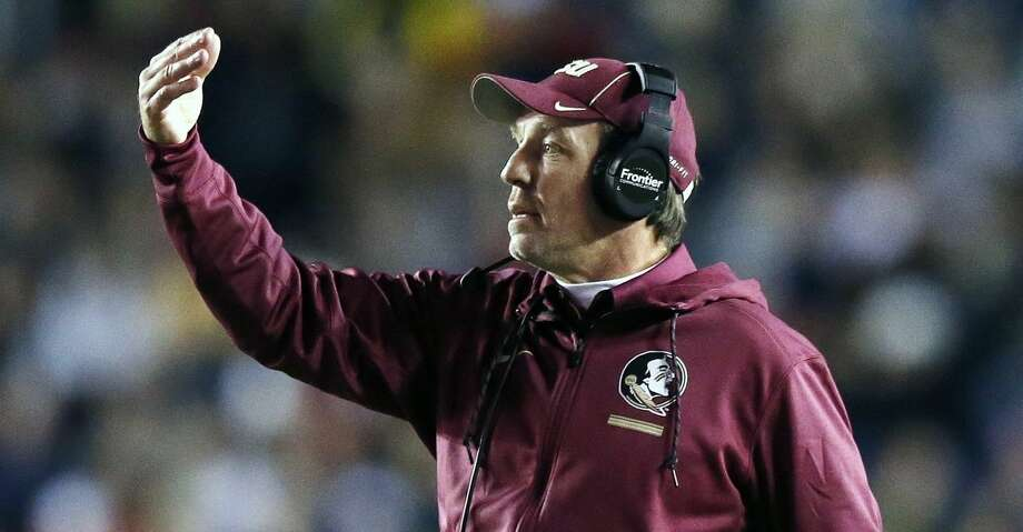 PHOTOS: Why Jimbo Fisher makes sense for Texas A&MJimbo Fisher is the top candidate for the head coach vacancy at Texas A&M.Browse through the photos above for a look at how Jimbo Fisher fits at Texas A&M. Photo: Michael Dwyer/Associated Press