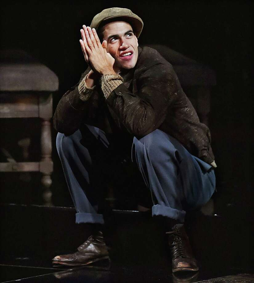 "Jasai Chase-Owens as Buddy in the ""Native Son."" Photo: Catherine Avalone / Hearst Connecticut Media / New Haven Register"