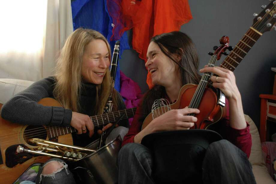 "The Nields — sisters Nerissa and Katryna Nields — are back to play CT Folk's latest ""Folk Friday"" show at First Presbyterian Church. Photo: Courtesy Of The Nields"