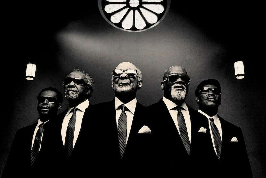 The Blind Boys of Alabama will perform in a Christmas show with The Preservation Hall Legacy Quintet Saturday at 8 p.m. at the Shubert Theatre in New Haven. Photo: Contributed
