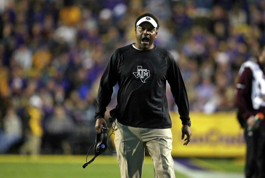 Kevin Sumlin and Texas A&M have never beaten LSU since entering the SEC West in 2012. Photo: Gerald Herbert / Associated Press / Copyright 2017 The Associated Press. All rights reserved.