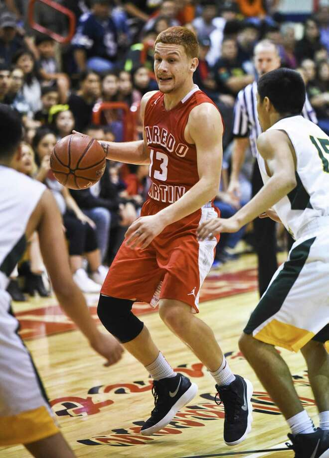 "Luis ""Red"" Ortegon and the Tigers open the second round of district play at 7 p.m. Thursday at Sharyland. Photo: Danny Zaragoza /Laredo Morning Times File / Laredo Morning Times"