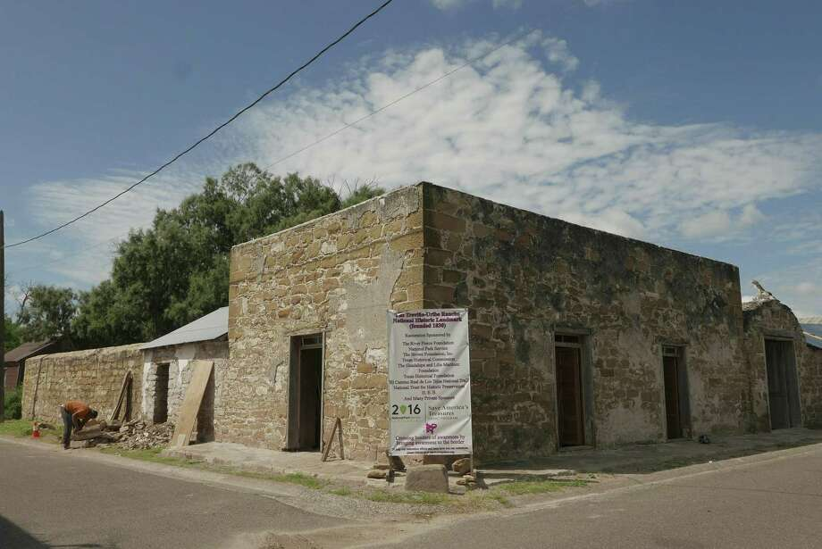 The Treviño-Uribe Ranch fort was built in 1830 in San Ygnacio and has survived largely intact as a rare example of Mexican vernacular architecture. It will be open to the public to tour on Dec. 3. Photo: Billy Calzada /San Antonio Express-News File / San Antonio Express-News