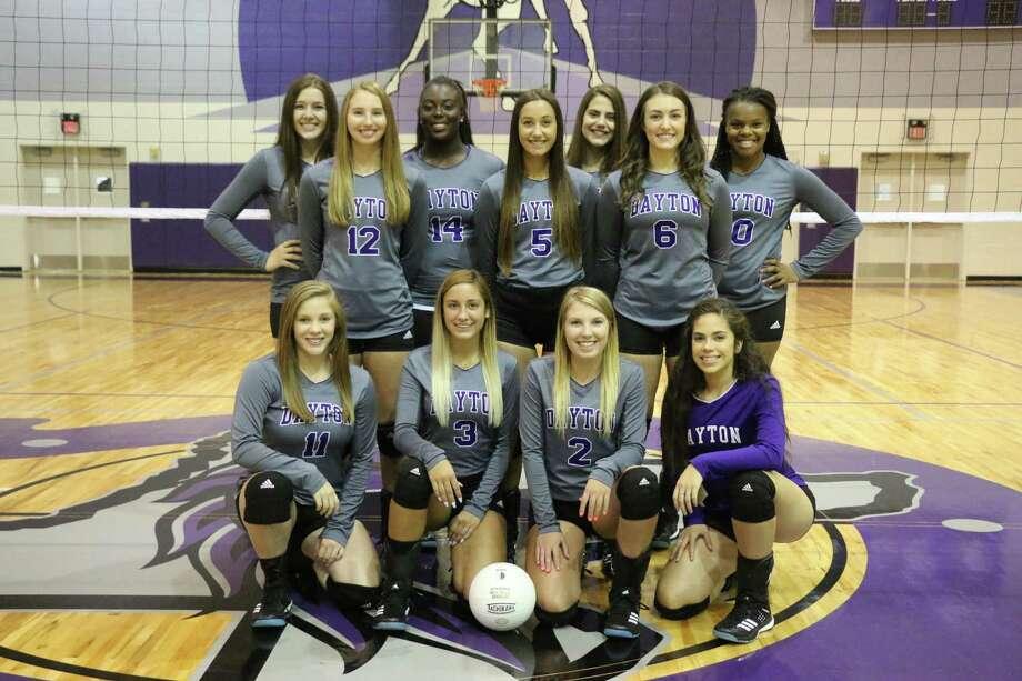 The 2017 Dayton Lady Bronco Volleyball Team Photo: David Taylor