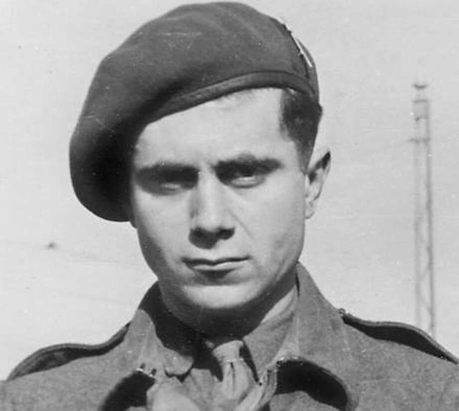 A photo of the author Eric Housman-Houston's father, Fred Hausman, in his British military uniform taken around 1945. Photo: Contributed Photo