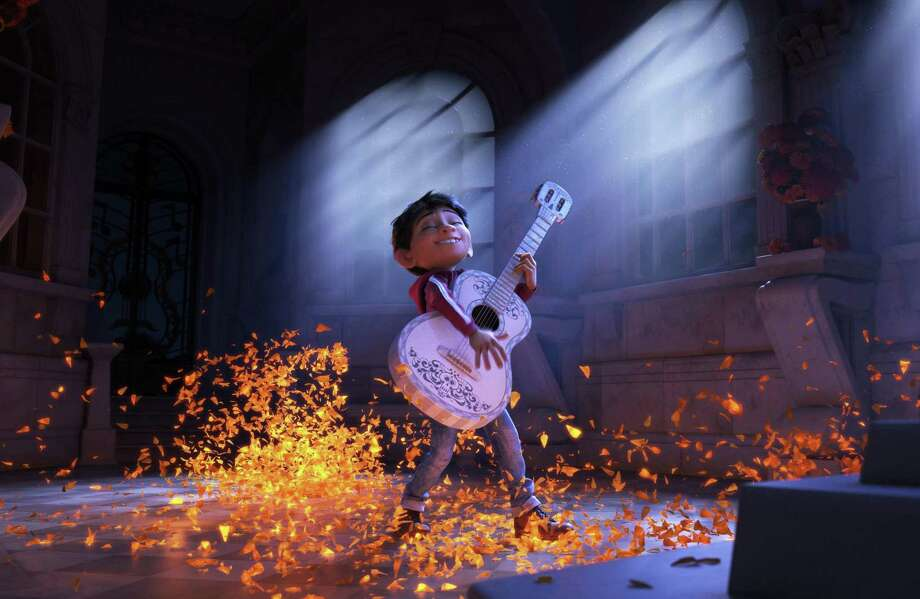 "Miguel, voiced by Anthony Gonzalez in a scene from the animated film, ""Coco."" Photo: Pixar / Associated Press / ©2017 Disney•Pixar. All Rights Reserved."
