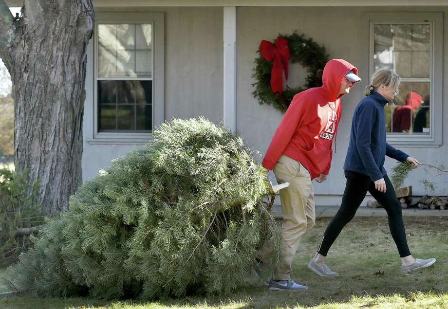 Number of real trees purchased in 2016: 27.4 million(2015: 25.9 million | 2014: 26.3 million | 2013: 33.02 million | 2012: 24.5 million | 2011: 30.8 million | 2010: 27 million)Source: National Christmas Tree Association Photo: Peter Hvizdak / Hearst Connecticut Media / New Haven Register