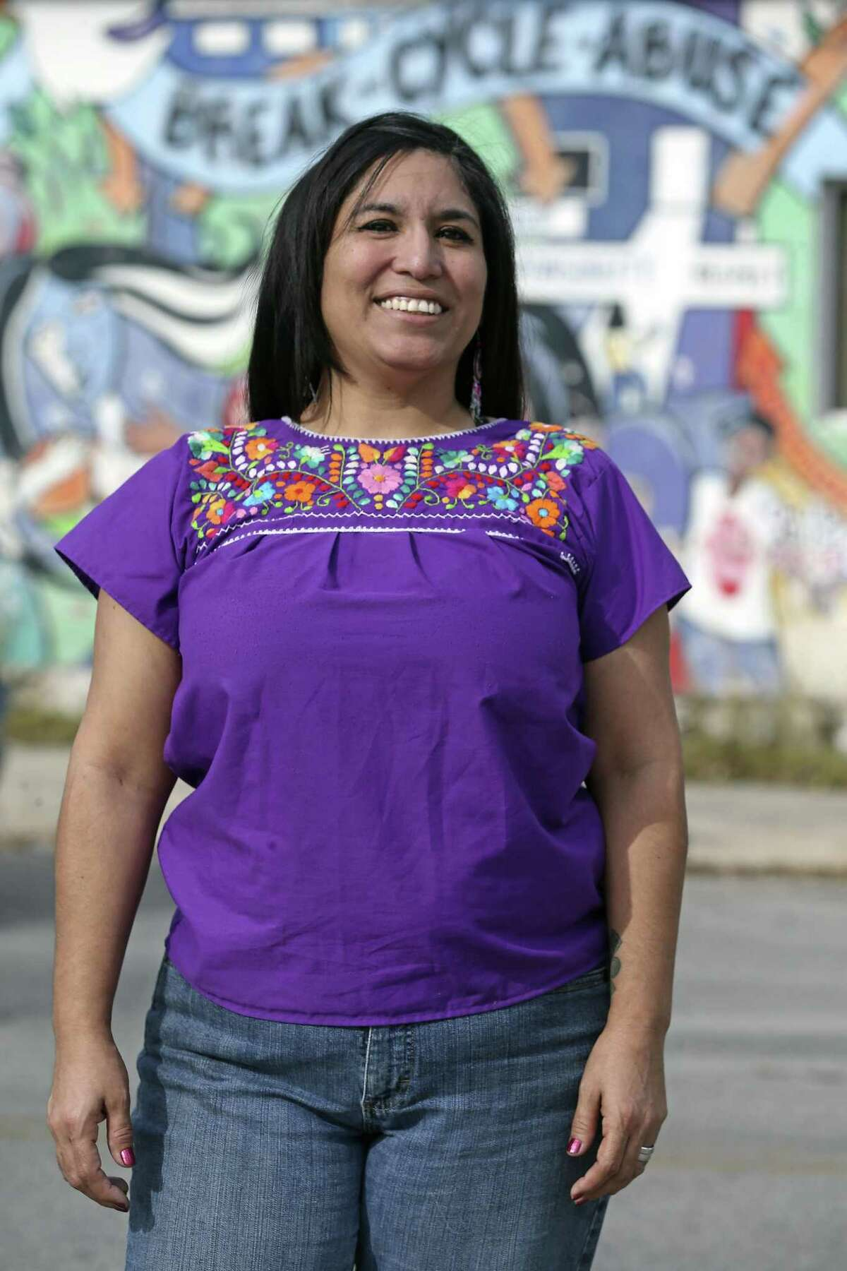 Alexandra Gonzalez was left deeply traumatized after she was attacked by her boyfriend nearly five years ago. Now, she volunteers to help other women who are victims of domestic violence.