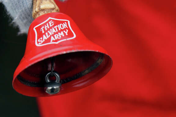 Christmas means the return of bell-ringers at the entrances of many stores. The bells are part of Salvation Army's Red Kettle campaign.