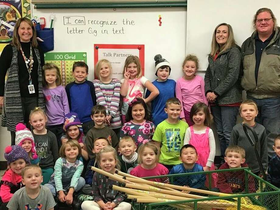 All A's Automotive supports Nature Kindergarten program 				Bullock Creek Pine River Elementary students in Kimberly Reid's Nature Kindergarten class recently received a visit from the owners of All A's Automotive of Midland. Owners Ron and Sheila Kissane have helped the class by donating a garden wagon, rakes and shovels for their use in studying nature.
