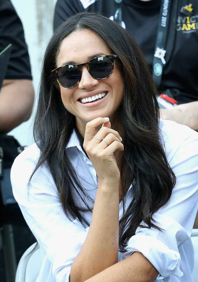 Meghan Markle attends a Wheelchair Tennis match during the Invictus Games 2017 at Nathan Philips Square on September 25, 2017 in Toronto. Photo: Chris Jackson/Getty Images For The Invictus Ga