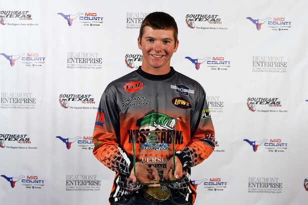 West Sabine's Hunter Muncrief is a 2017 Beaumont Enterprise Super Gold angler of the year Photo taken Monday 5/22/17 Ryan Pelham/The Enterprise