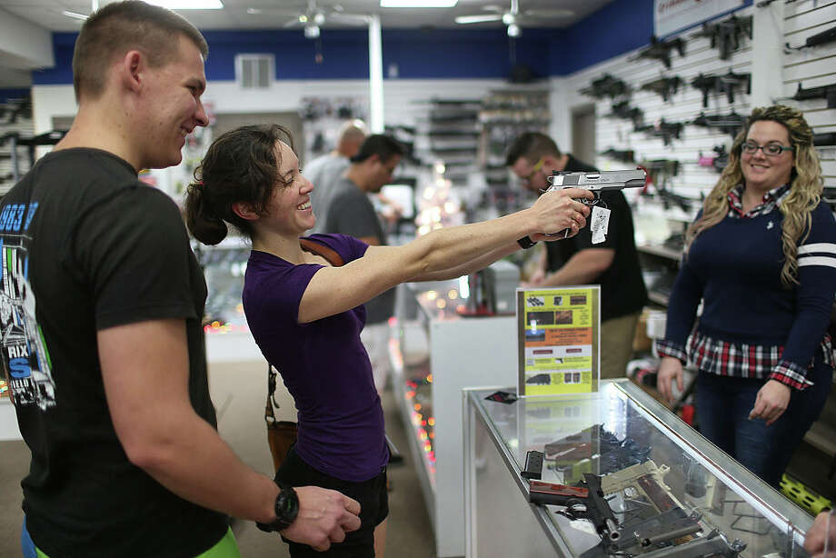 The FBI saw a big spike in background checks for gun purchases this Black Friday when compared to years past.Swipe through to see what Houston ZIP codes have the most registered gun owners.  Photo: Joe Raedle/Getty Images