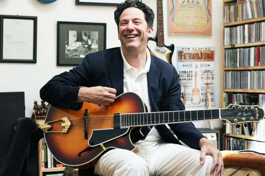 The New York cabaret husband-and-wife duo of guitarist John Pizzarelli, above, and Broadway singer/actress Jessica Molaskey will perform on Dec. 3 at the Quick Center for the Arts at Fairfield University. Photo: Fretboard Journal / Contributed Photo