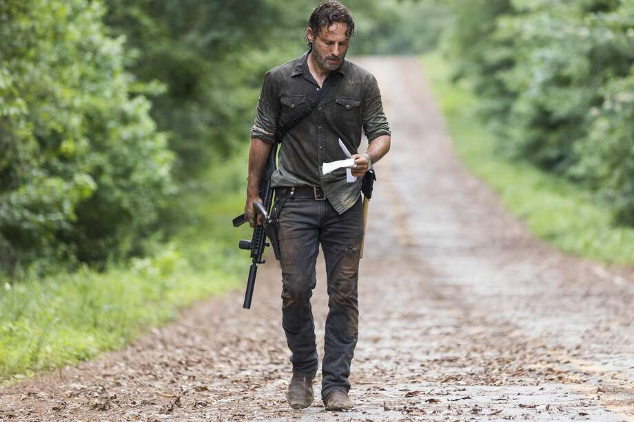 Andrew Lincoln as Rick Grimes. Photo: Jackson Lee Davis/AMC