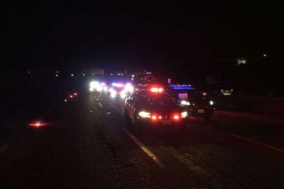 A 47-year-old Sacramento man was arrested after colliding with four other cars on Interstate 80 Saturday night, killing four and injuring six, authorities said.