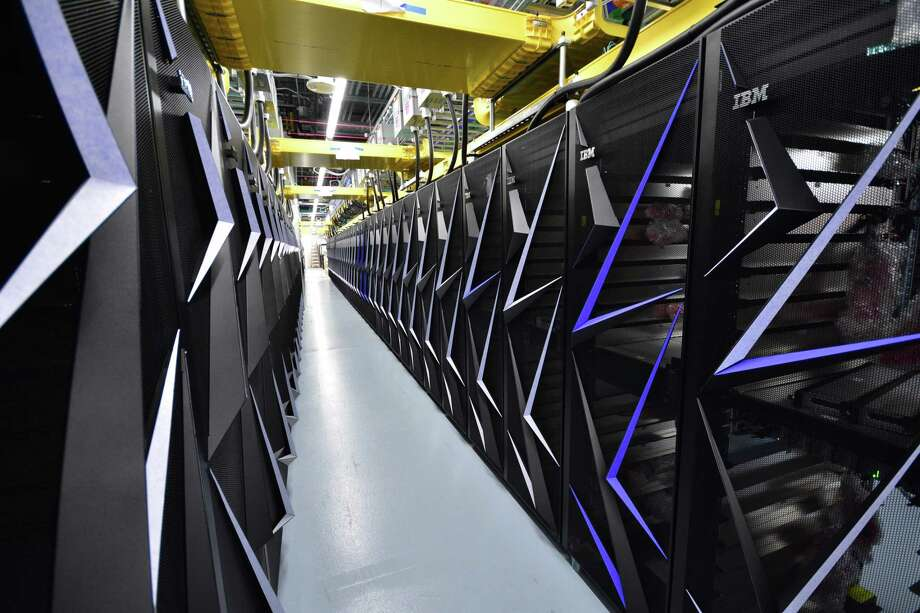 The Summit supercomputer at Oak Ridge National Lab is nearing completion. Photo: Oak Ridge National Lab