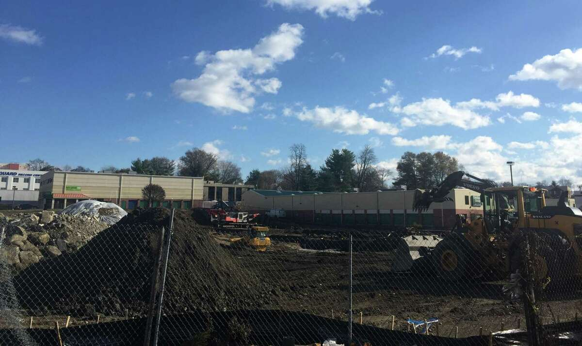 Construction has started on a CVS store at the corner of West Main Street and Commerce Road, on the West Side of Stamford, Conn.