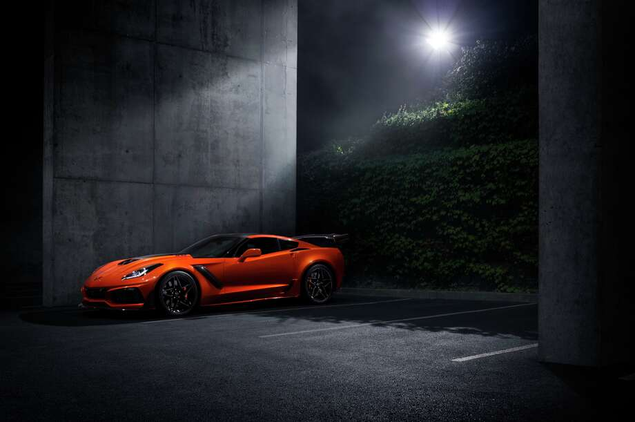 "The fastest, most powerful production Corvette ever —€"" the 755-horsepower 2019 ZR1. Photo: Chevrolet"