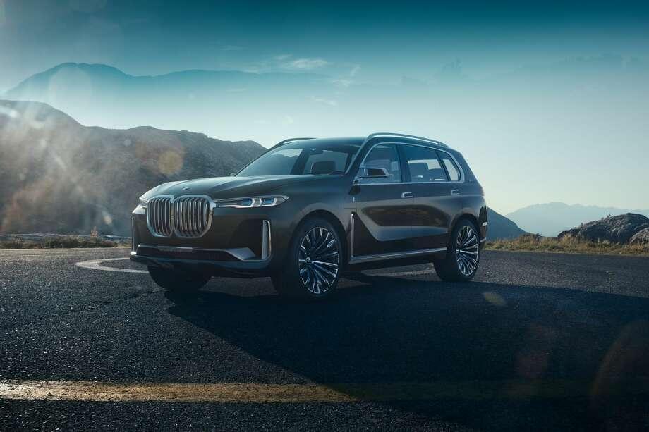 BMW's X7 Concept. Photo: BMW