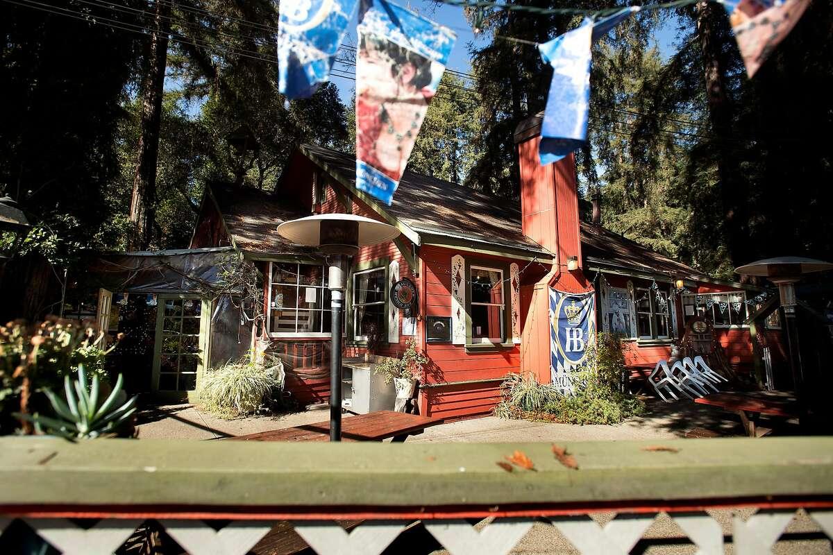 The Tyrolean Inn is pictured on Nov. 19, 2017, in Ben Lomond, Calif.