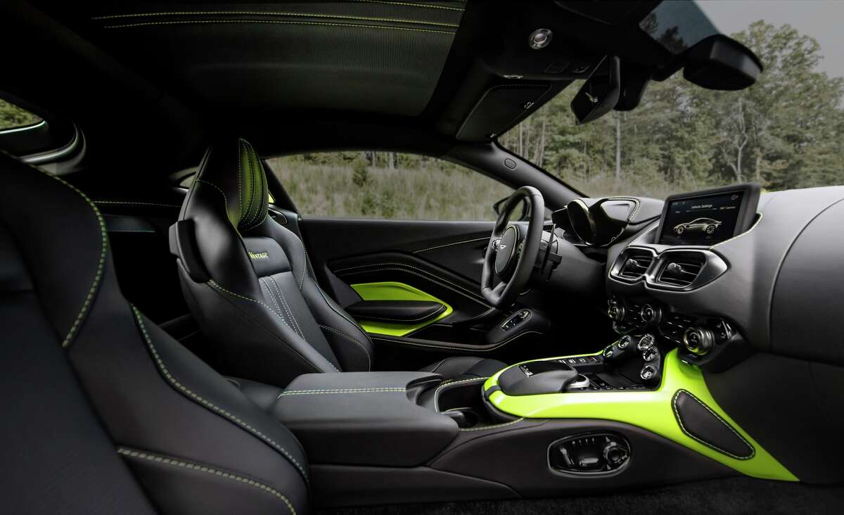 Aston Martin's 2018 Vantage.