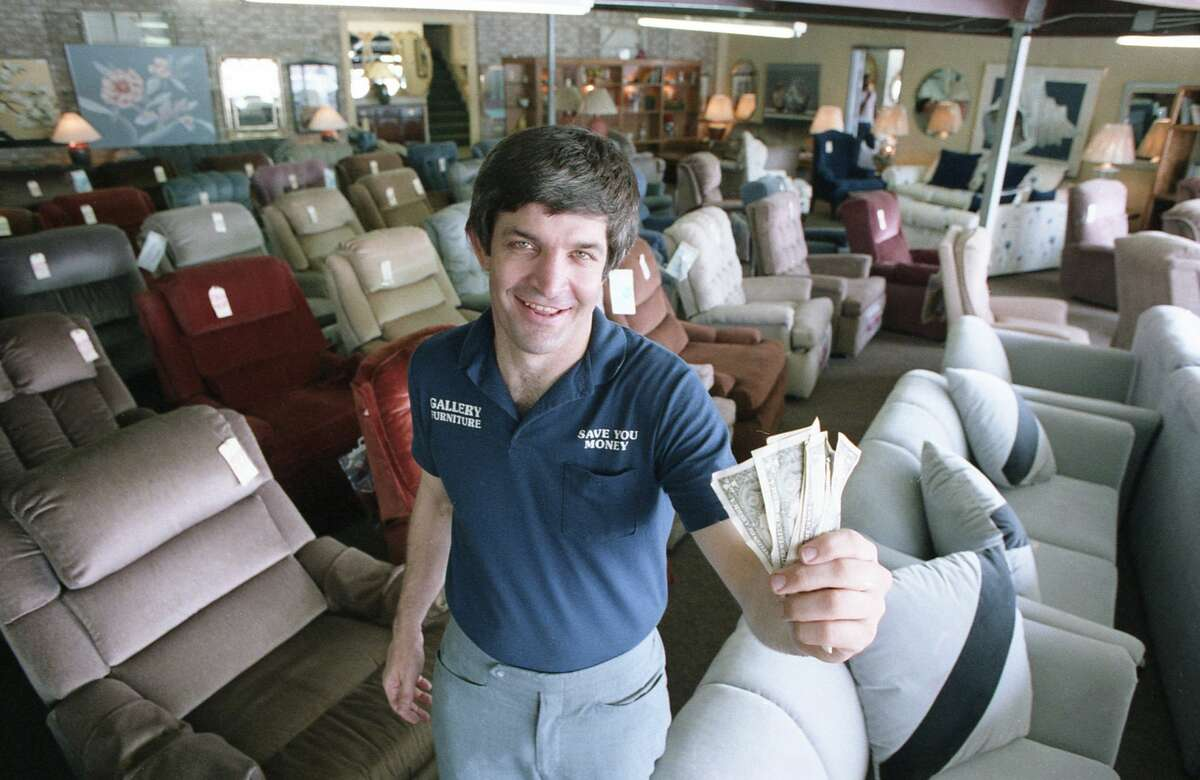 He started Gallery Furniture more than 3 decades ago with $5,000 and some tents on the roadside, according to GalleryFurniture.com.