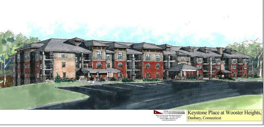 Artist's rendering of a 139-unit complex for the aging that has been approved for Wooster Heights in Danbury. Photo: JAR Associates / Hearst Connecticut Media / The News-Times Contributed