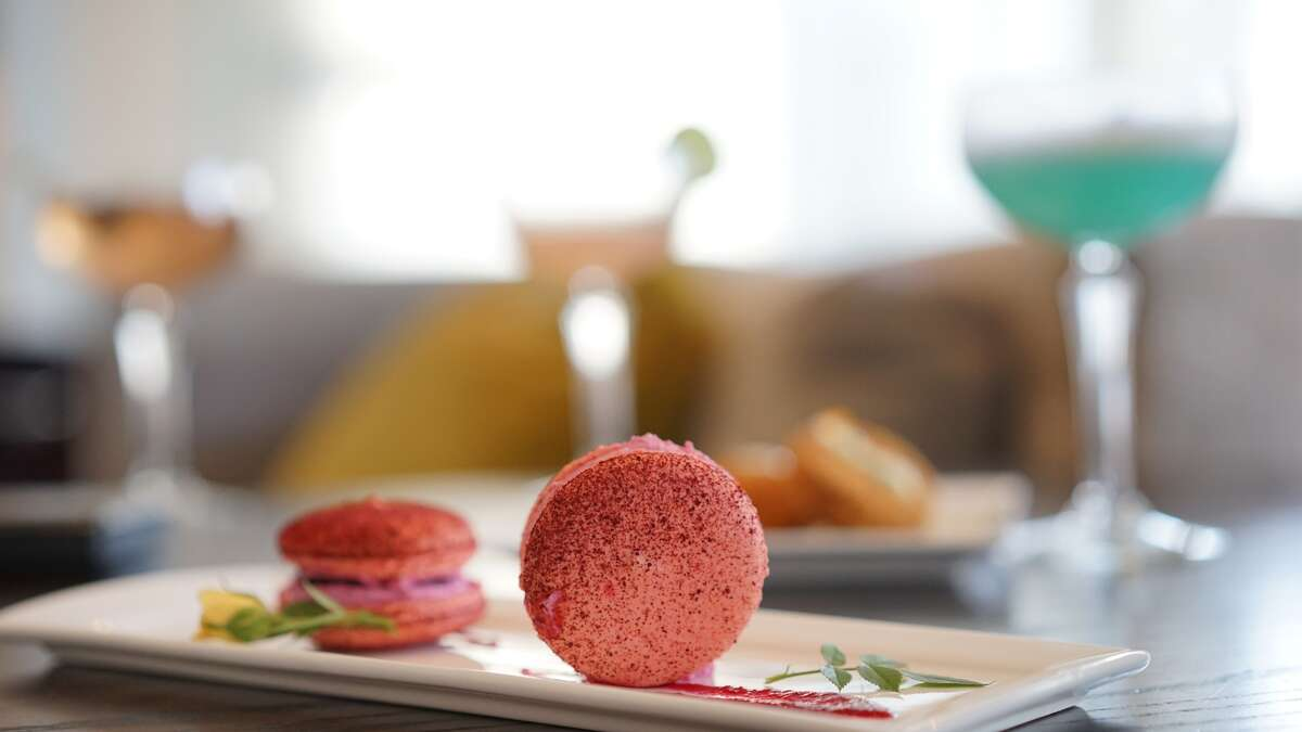 Radio Milano at the Hotel Sorella at CityCentre has launched a modern high tea service, available daily from noon to 4 p.m. in the hotel lounge and terrace. Shown: Beet macaron.