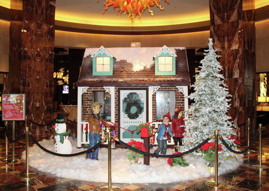 One of the most unique holiday traditions in Houston has to be the unveiling of the gingerbread and chocolate displays at the Hilton Americas-Houston.See more photos of the calorie-laden display... Photo: Tere Perry