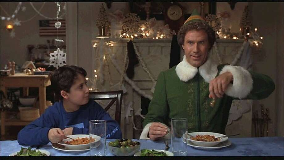 "Will Ferrell stars in ""Elf,"" a 2003 movie that's a holiday favorite. Photo: New Line Cinema"