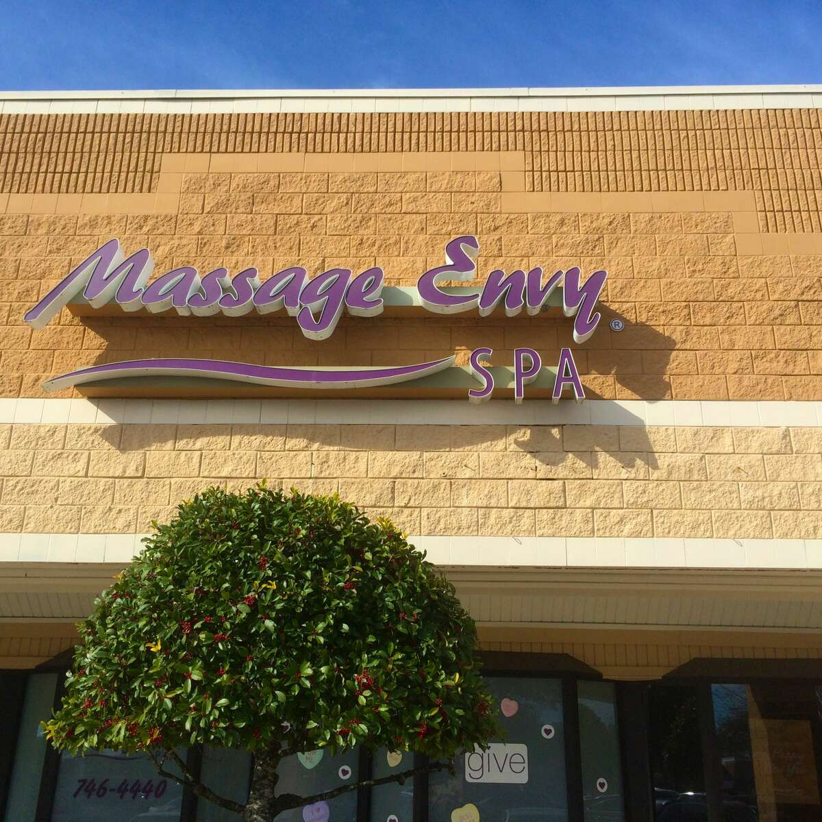 A Massage Envy spa in Jacksonville Beach, Florid. Over 180 women claim they were sexually assaulted at the global spa chain, according to a BuzzFeed investigation published Monday.