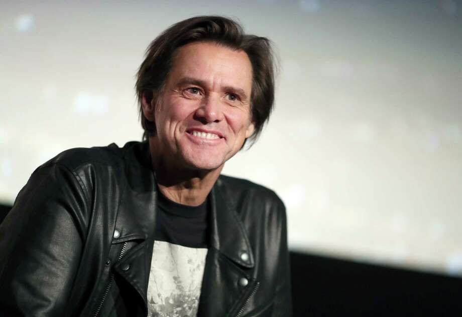 "Jim Carrey  speaks onstage during ""Jim & Andy: The Great Beyond - Featuring a Very Special, Contractually Obligated Mention of Tony Clifton"" at AFI FEST 2017 Presented By Audi at TCL Chinese 6 Theatres on November 13, 2017 in Hollywood, California. Photo: Christopher Polk, Staff / 2017 Getty Images"
