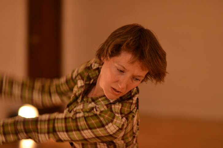 Christy Funsch performs new works at Counterpulse Friday May 31 to Sunday June 2. Photo credit: Ryan Borque