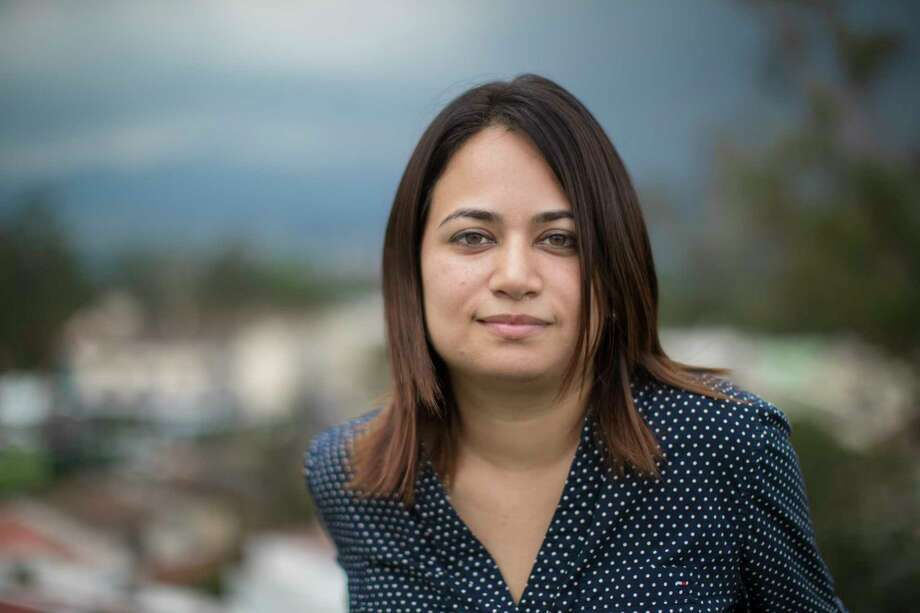 Guatemalan lawyer Marisa Mejía, a founder of the Center for Guatemalan Migration Research, a private institution located in Guatemala City. Sunday, Oct. 1, 2017, in San Salvador. Photo: Marie D. De Jesus, Houston Chronicle / © 2017 Houston Chronicle