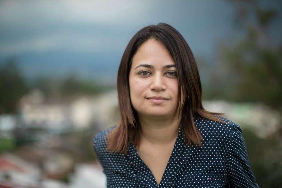 Abogada guatemalteca Marisa Mejia, cofundadora del Centro para la Investigación de la Migración Guatemalteca, una institución privada ubicada en la capital. Photo: Marie D. De Jesus, Houston Chronicle / © 2017 Houston Chronicle