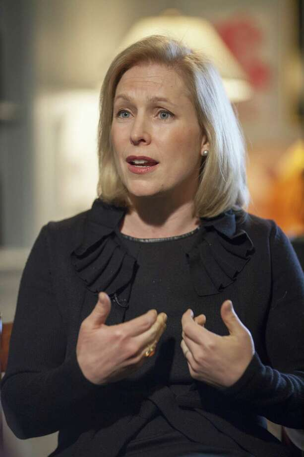 Sen. Kirsten Gillibrand, D-N.Y., chair of the Senate Armed Services Subcommittee on Personnel, has taken the lead in dealing with sexual assault in the military but has, so far, been stymied in efforts to remove commanders from the decision making after sexual assaults occur. Photo: J. Scott Applewhite /Associated Press / AP