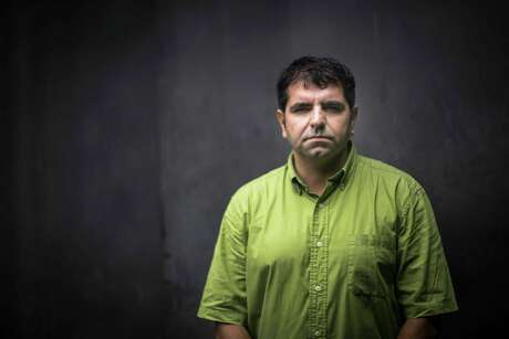 Roberto Valencia is an investigative journalist who works for the newspaper El Faro in San Salvador. Friday, Sept. 29, 2017, in San Salvador.