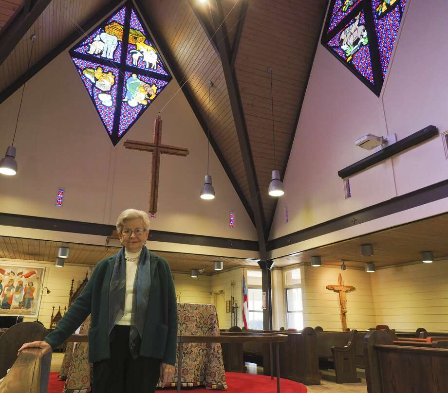 Jo Weber has overseen the chapel at Trinity School for 50 years. The school has established an endowment, The Preservation of All Saints Chapel fund in honor of her service.  11/15/17  Tim Fischer/Reporter-Telegram Photo: Tim Fischer/Midland Reporter-Telegram