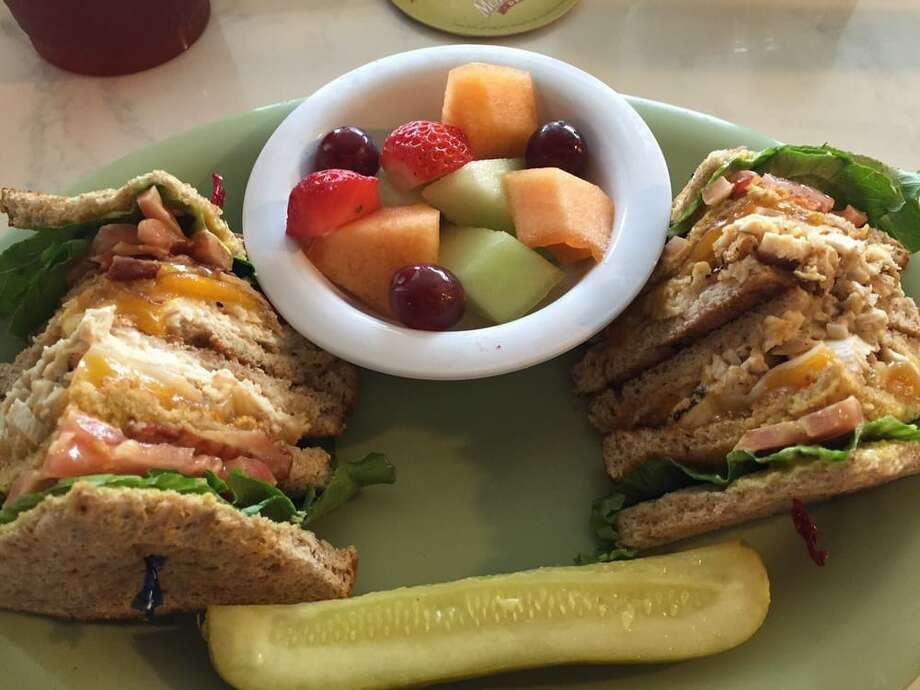The grilled chicken club sandwich at McAlister's Deli. Photo: Greg C. Via Yelp