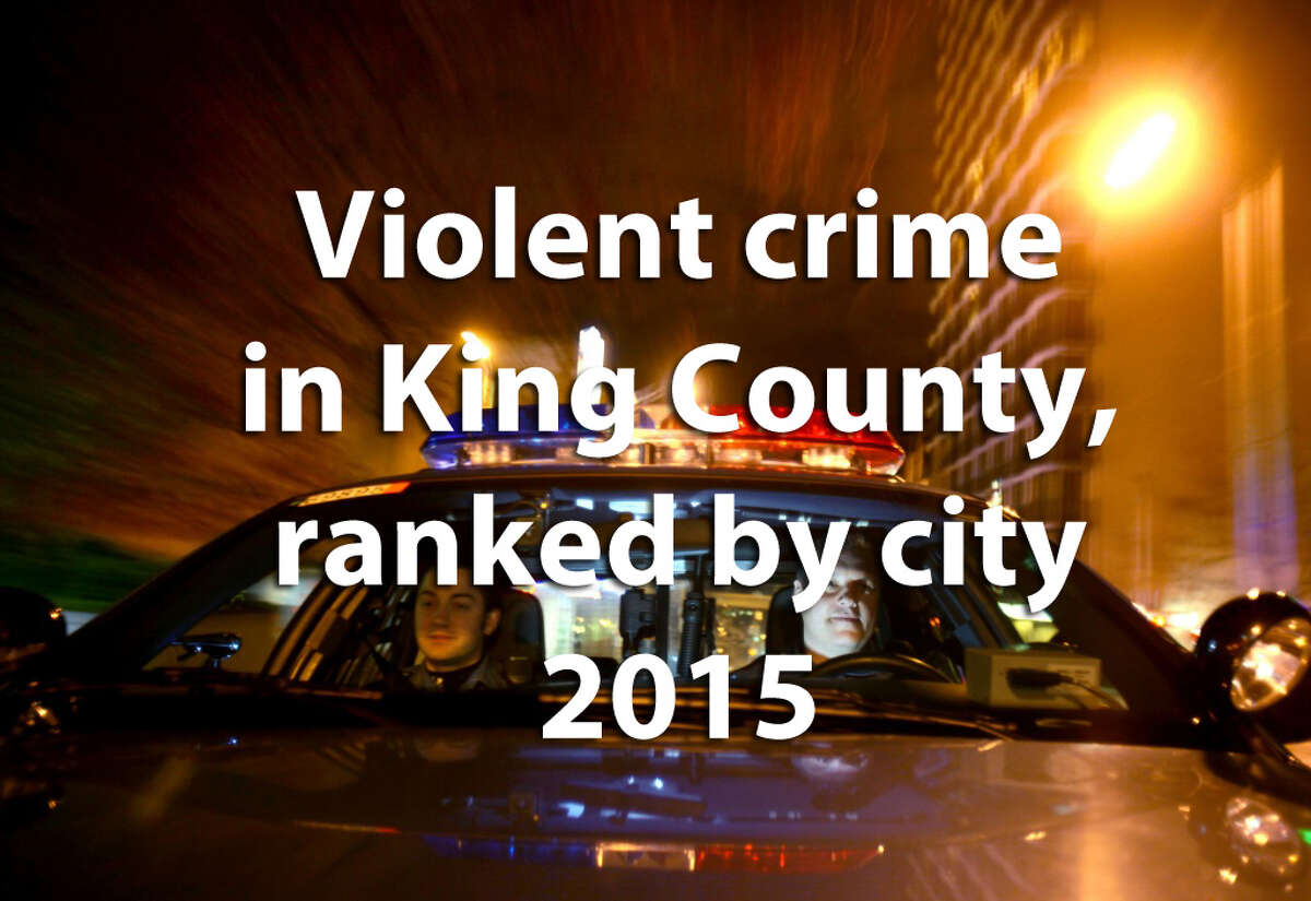 The FBI keeps data that show the frequency of violent crime -- which comprises murder, rape, robbery, manslaughter and aggravated assault -- and breaks down the numbers for King County's cities. We also calculated the violent crimes per capita to get a better idea of how much of a problem each city had in 2015.Check out how often violent crimes occur -- we ranked the cities from least frequent to the most.