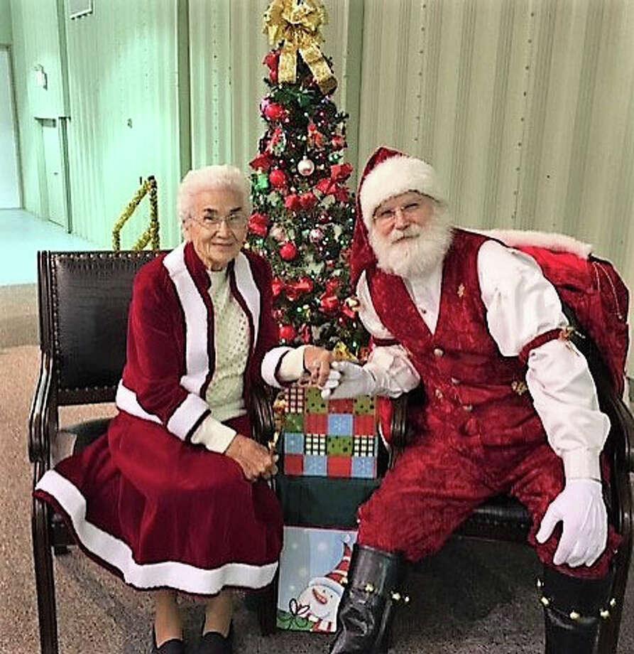 Mrs. Claus and Santa
