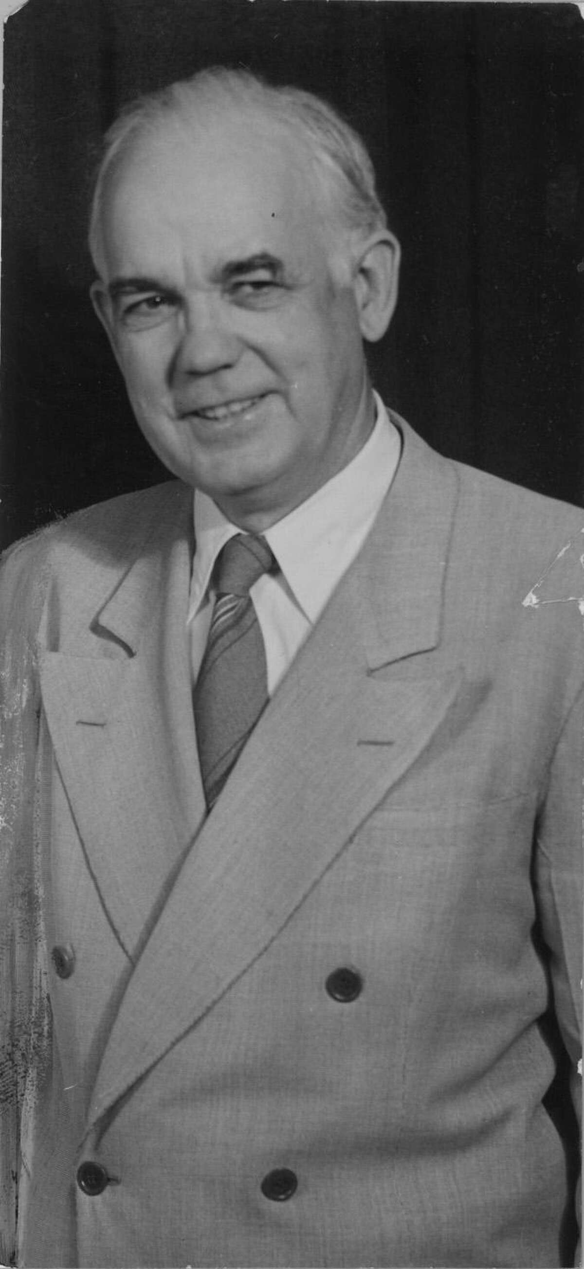 Oscar Holcombe was elected to his first term as Houston mayor in 1920 and served 11 terms over 37 years. He became a foe of the KKK after attending one of their meetings.