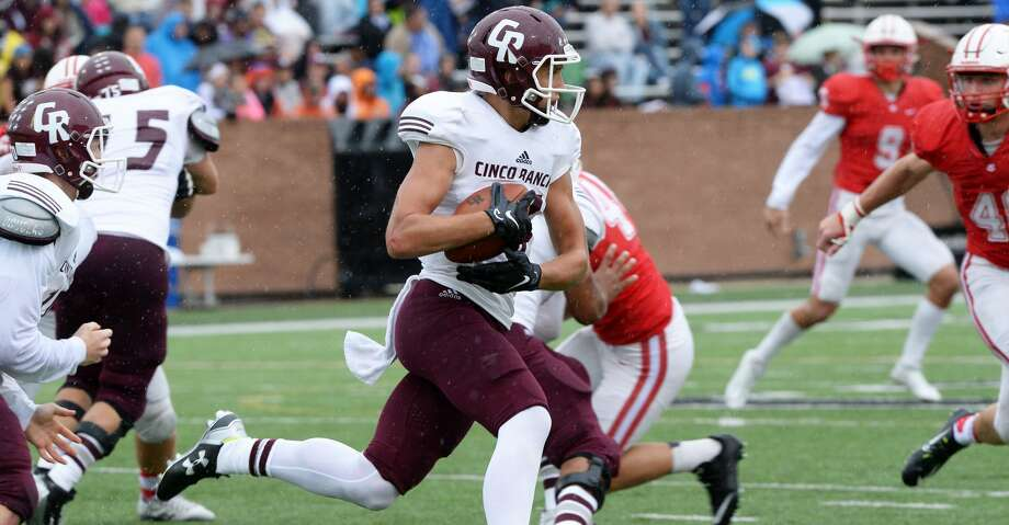 Cinco Ranch's Brant Kuithe scored two touchdowns, including a go-ahead run in the fourth quarter. But Bellaire won 35-31 in the Class 6A Division I bi-district playoffs. To view or purchase this photo and others like it, visit HCNpics.com. Photo: Craig Moseley