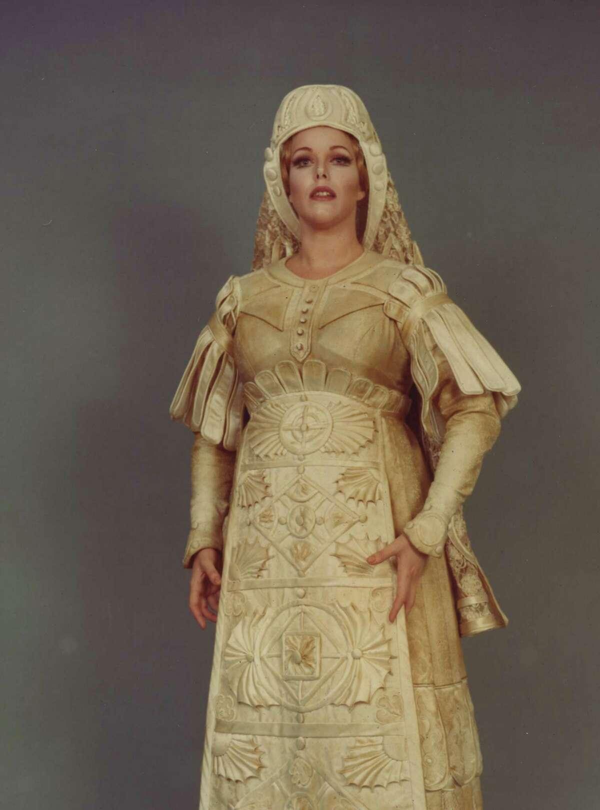 "Carol Neblett as Senta in ""The Flying Dutchman,"" her debut role at the Met."