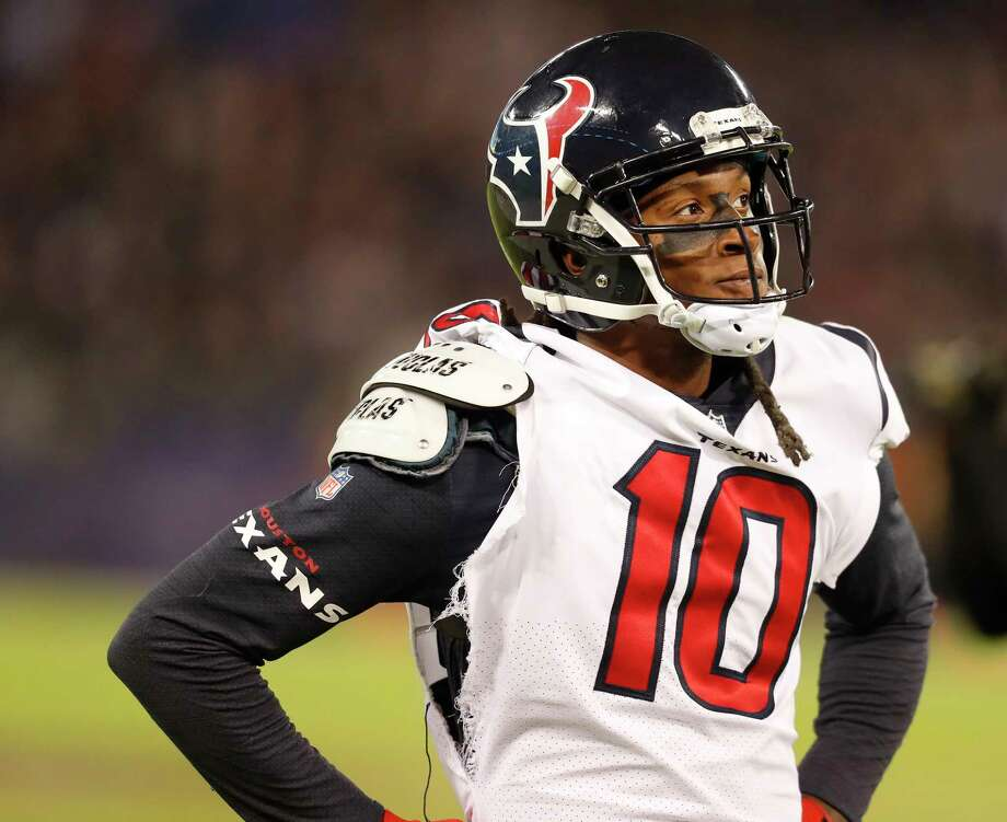 For the Texans - and perhaps the league - DeAndre Hopkins stands alone for his skill set as a wide receiver. Photo: Brett Coomer, Staff / © 2017 Houston Chronicle