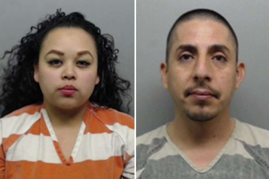 Mario Enrique Estrada, right, the man suspected of abusing the child, was arrested Thursday and charged with injury to a child. The boy's mother, Alexis Ramirez, left, was arrested on the same offense last month. Photo: Webb County Sheriff's Office