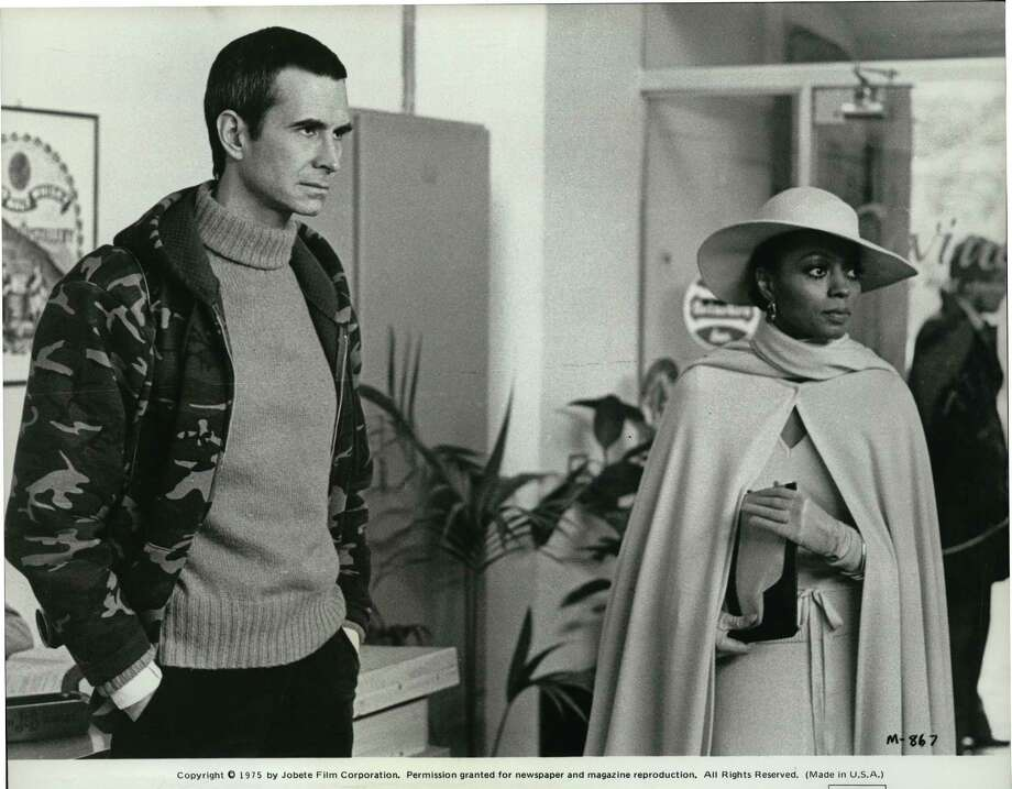 MAHOGANY - ANTHONY PERKINS portrays a tormented high fashion photographer who opens the door for DIANA ROSS to launch a modeling career in Berry Gordy's Paramount released film, MAHOGANY. / © Jobete Film Corporation