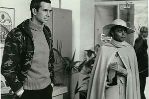MAHOGANY - ANTHONY PERKINS portrays a tormented high fashion photographer who opens the door for DIANA ROSS to launch a modeling career in Berry Gordy's Paramount released film, MAHOGANY.