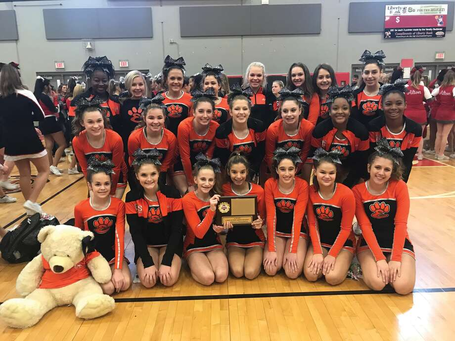 The Edwardsville High School Junior Varsity Cheerleading team competed at their first competition at Alton High School on Sunday, November 26, 2017.  They placed first in the Large Junior Varsity Division and have qualified for the ICCA (Illinois Cheerleading Coaches Association) Cheer Championship which will be held January 6-7, 2018 at the Prairie Capital Convention Center in Springfield, Illinois. Photo: For The Intelligencer